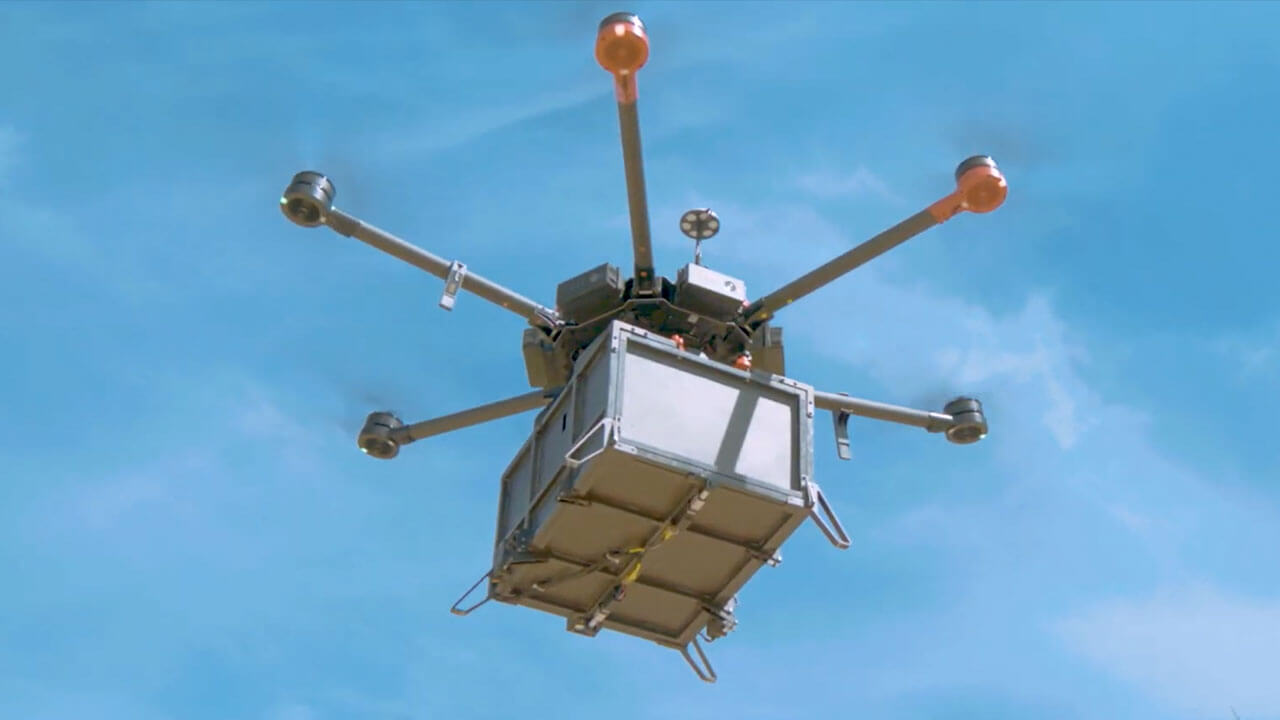 The COVID-19 pandemic is leading to innovative uses for drones